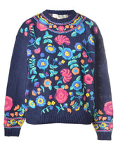 Load image into Gallery viewer, The Bianca floral Knit Jumper