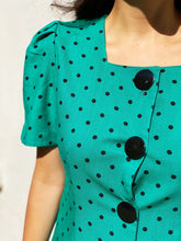 Load image into Gallery viewer, The Gema polka dot dress