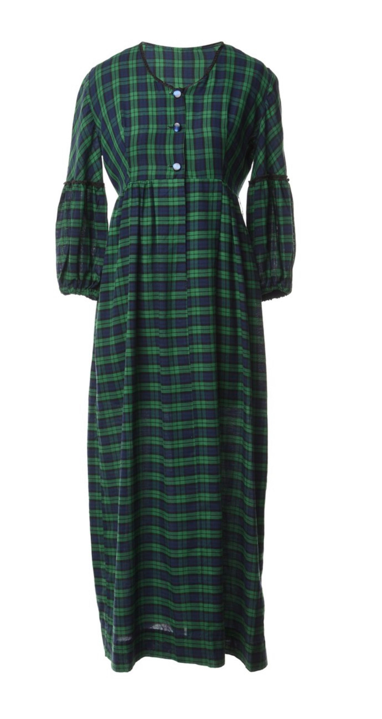 The Mora Checked Maxi Dress