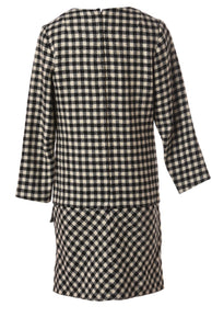 The London Checked Dress