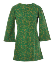 Load image into Gallery viewer, The Matcha Paisley Mini Dress