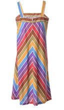 Load image into Gallery viewer, The Rainbow Pop midi dress