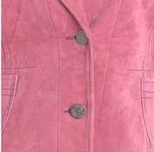 Load image into Gallery viewer, The Virgo Cropped Suede Jacket