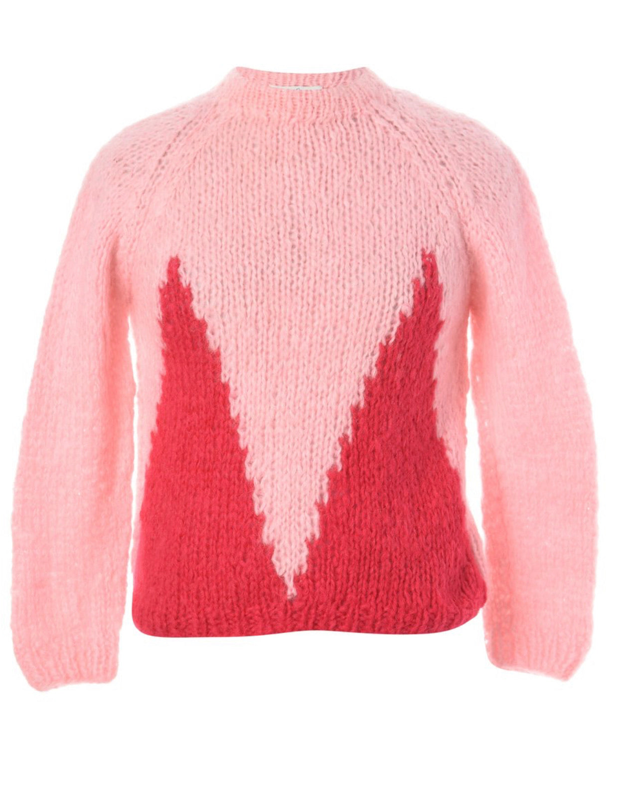 The Camelia mohair Jumper