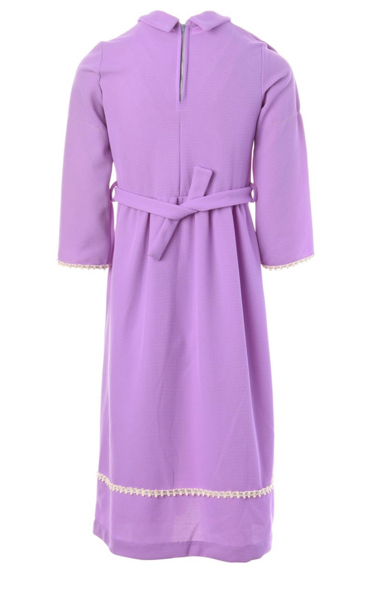 The Leyla Lilac pastel Mini Dress