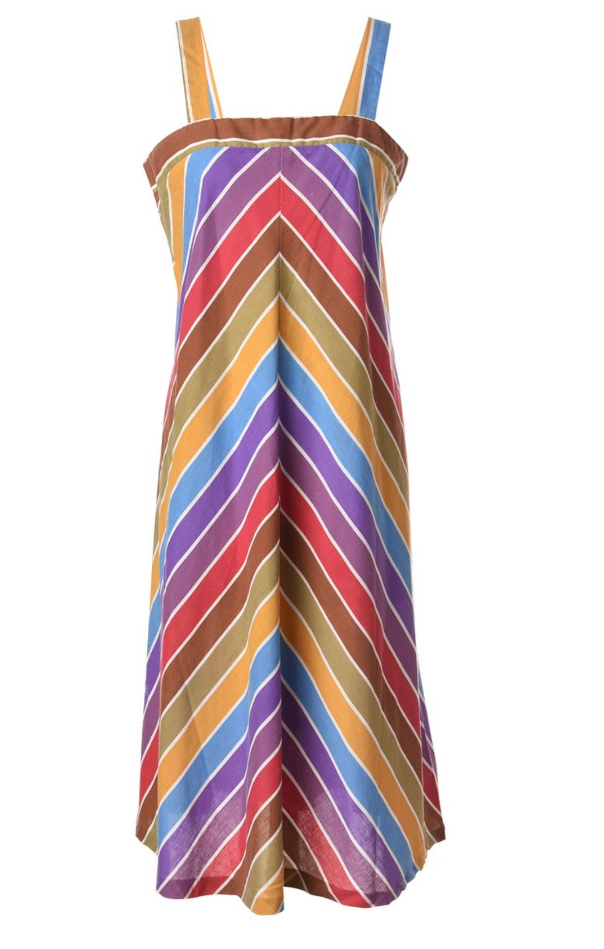 The Rainbow Pop midi dress