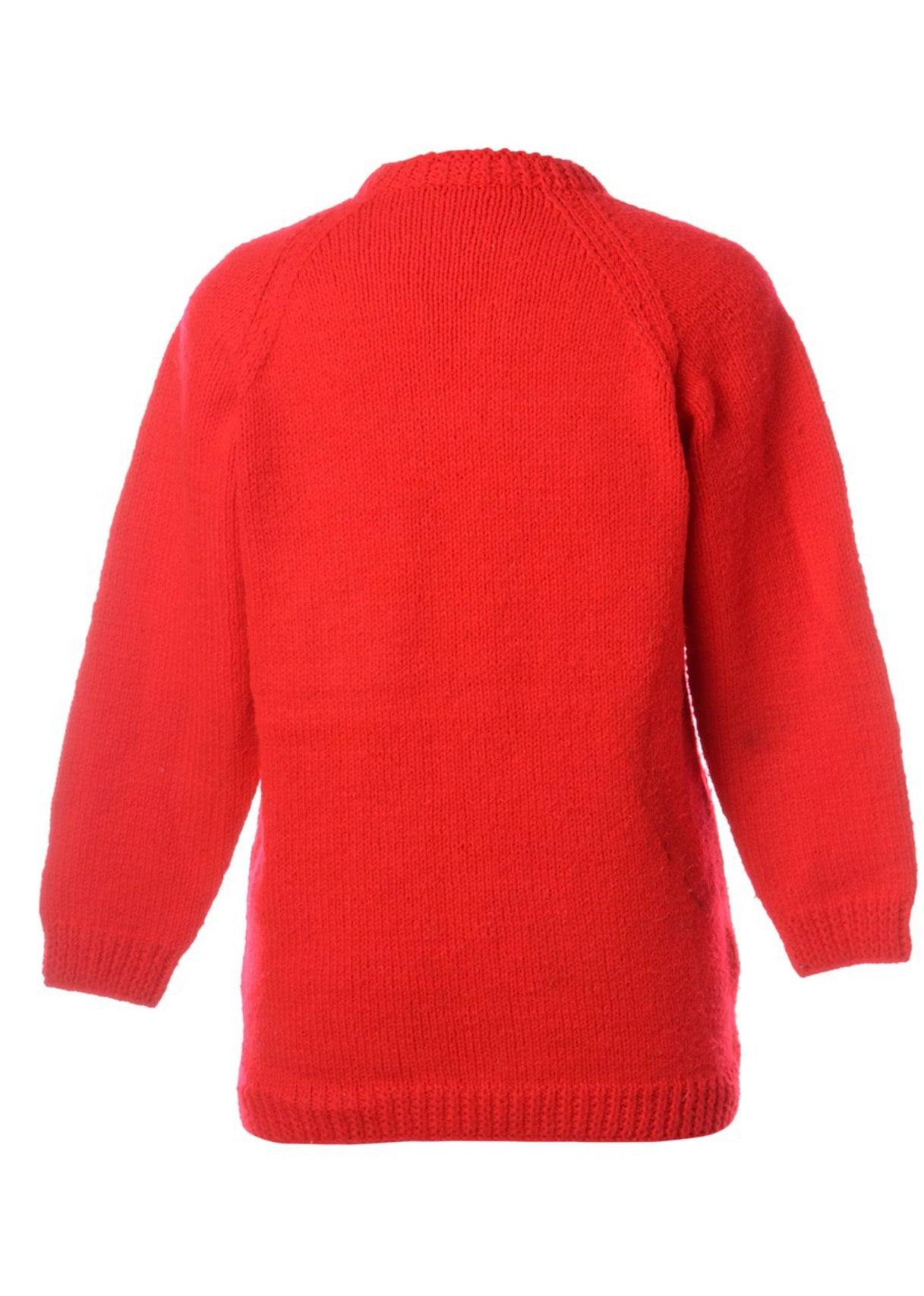 The Panda Red Knit