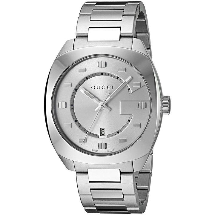 Gucci Men's YA142308 'GG2570' Stainless Steel Watch - #tusk_global#