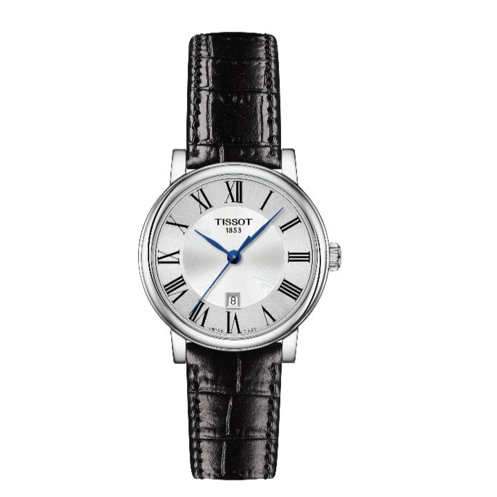 Tissot Swiss Carson Authomatic Leather Black Swatch -