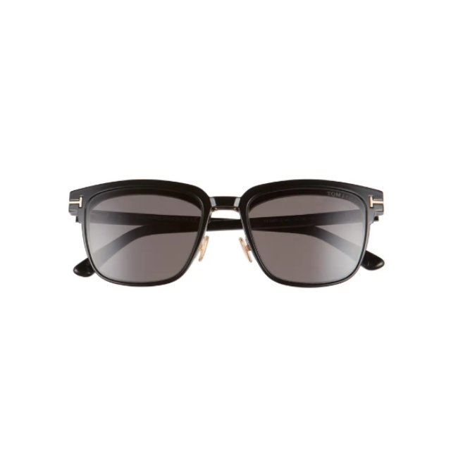 Tom Ford 54mm Blue Light Blocking Glasses & Clop-On Sunglasses -
