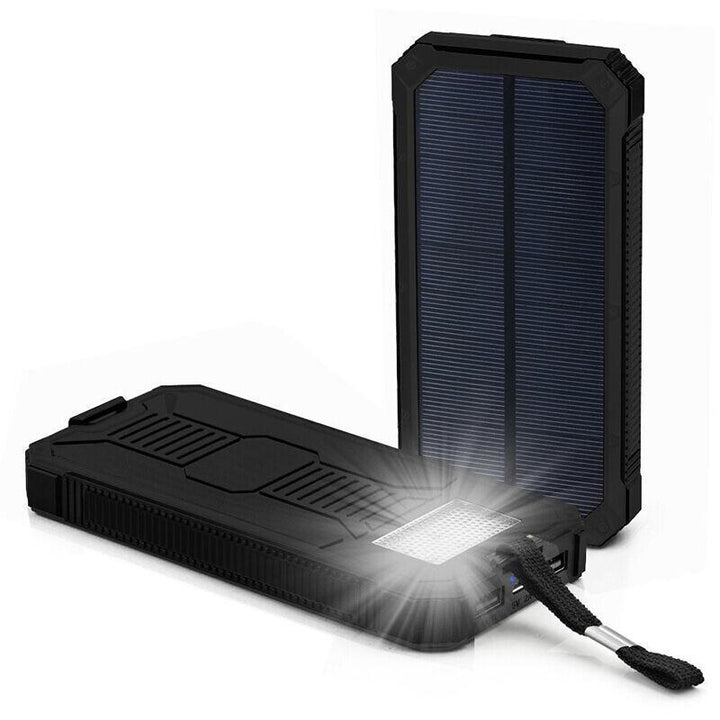Tusk Solar Powerbank w/ LED Flashlight - #tusk_global#