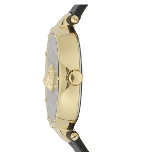 Versus Versace Moscova Leather Strap -