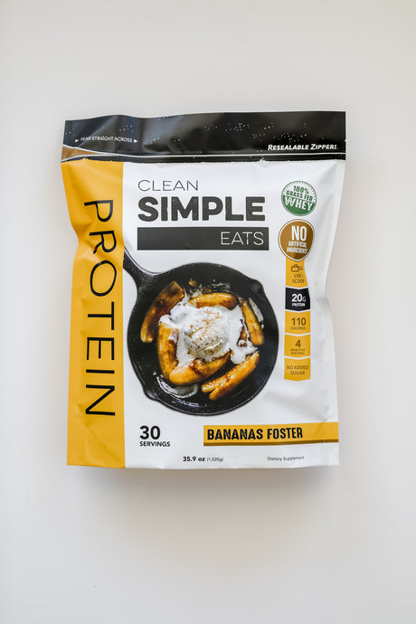 Product Spotlight: Bananas Foster Protein Powder