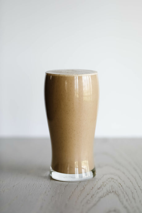 Vegan Dark Chocolate Peanut Butter Shake