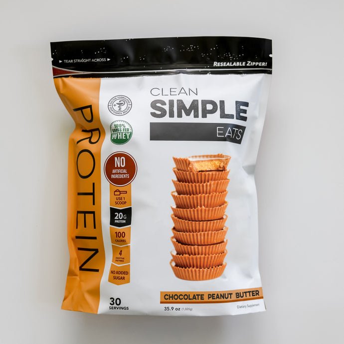 PRODUCT SPOTLIGHT: Chocolate Peanut Butter Protein Powder