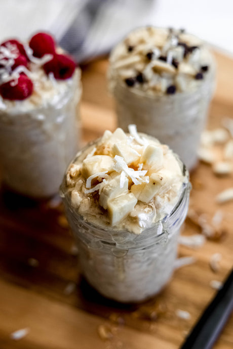 Coconut Macaroon Overnight Oats