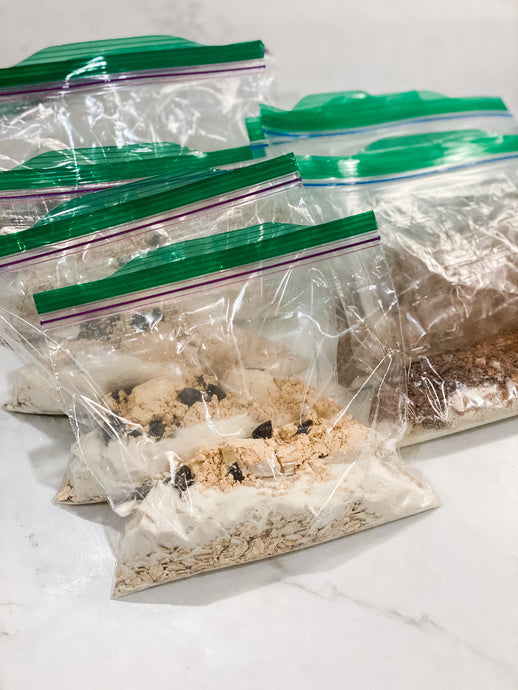 Simple Oatmeal Bags For Travel
