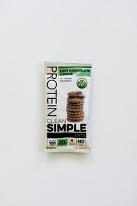 Protein Powder: Mint Chocolate Cookie (10 Single Serving Stick Packs)