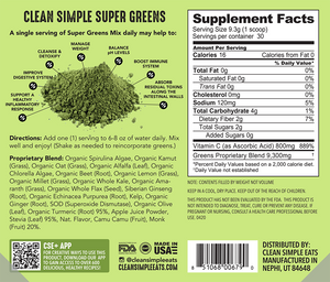 Greens: Super Greens Mix