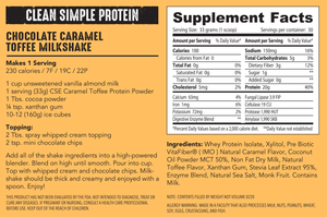 Protein Powder: Caramel Toffee