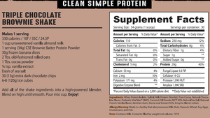 Protein Powder: Brownie Batter