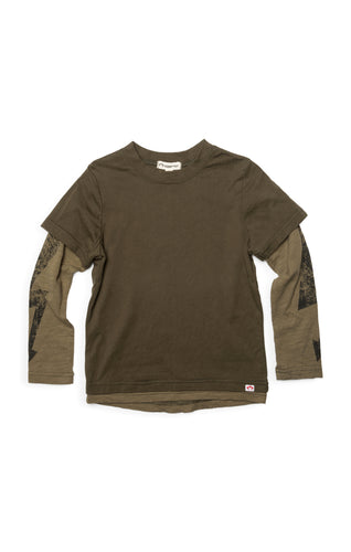 Military Olive Repo Long Sleeve