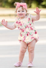 Load image into Gallery viewer, Darling Bouquets Ruffle Romper