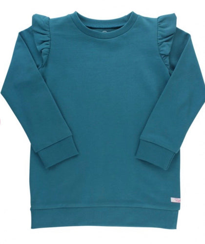 Ethereal Blue Sweatshirt Tunic