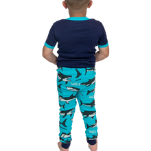Load image into Gallery viewer, Wide Awake Shark Kid PJ Set