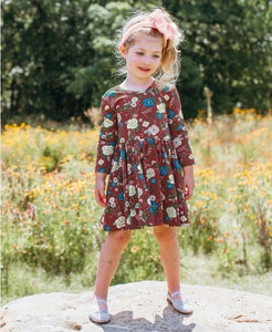 Budding Beauty Twirl Dress