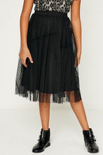 Load image into Gallery viewer, Tulle Lace Midi Skirt