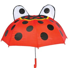 Load image into Gallery viewer, Ladybug Umbrella