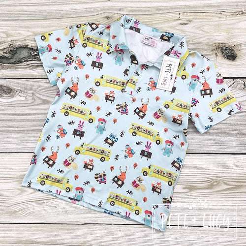PREORDER! Back to School Boy's Short Sleeve Shirt