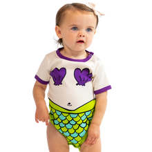 Load image into Gallery viewer, Mermaid Infant Creeper