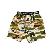 Load image into Gallery viewer, Buck Naked Camo Kid Boxer