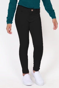 Solid Knit Stretch Jeggings