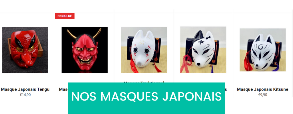 masques japonais eternal-japon