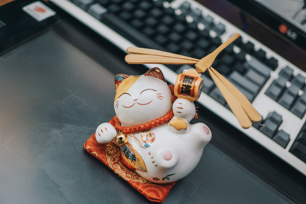 maneki neko fabrication
