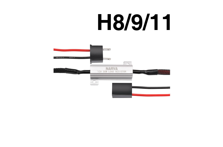NARVA H8/H9/H11 - LOAD RESISTOR  FOR L.E.D CONVERSION KIT
