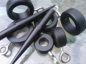 6.0 METER CARBON FIBER POLES WITH ADJUSTABLE WISHBONE BASES