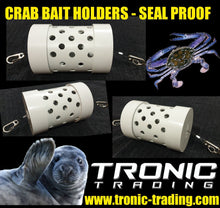 Load image into Gallery viewer, CRAB / CRAY BAIT HOLDER - SEAL PROOF - TWIN PACK