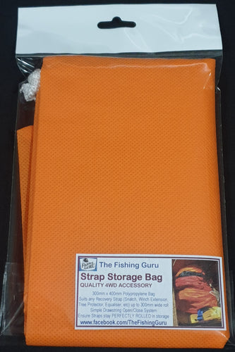 RECOVERY STRAP STORAGE BAG