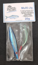 Load image into Gallery viewer, MULTI JIG / LURE - JIGGING TROLLING SPIN FISHING WITH ASSIST HOOK