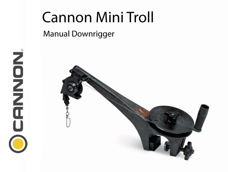 CANNON MINI TROLL DOWN RIGGER KIT 394252
