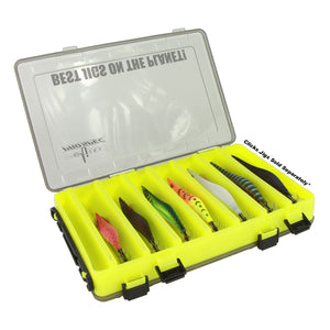 CLICKS PROSPEC SQUID JIGS CASE - DOUBLE SIDED