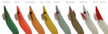 Load image into Gallery viewer, DTD FULL FLASH OITA 3.5 - SQUID JIGS