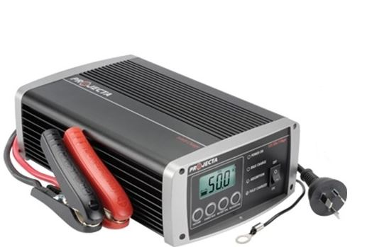 PROJECTA 12V AUTOMATIC 50A 7 STAGE BATTERY CHARGER