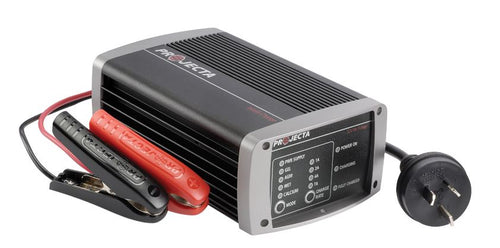 PROJECTA 12V AUTOMATIC 7A 7 STAGE BATTERY CHARGER