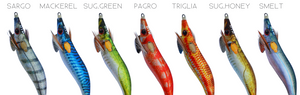 DTD REAL FISH 2.5 - SQUID JIGS