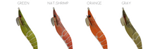 Load image into Gallery viewer, DTD SHRIMP OITA 3.5 - SQUID JIGS